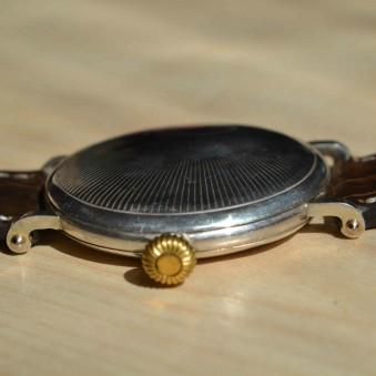SOLD: Girard Perregaux rare swiss silver collectible wristwatch