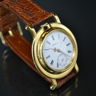 41 mm IWC  1892 antique  military WW1 trench  vintage men watch